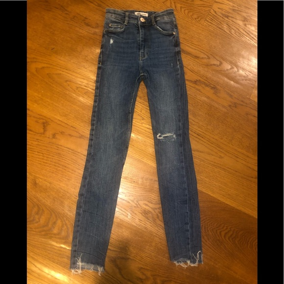 Zara authentic denim by TRF skinny jeans
